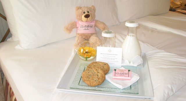 Bedtime Amenities for kids at The Beverly Hills Hotel Los Angeles