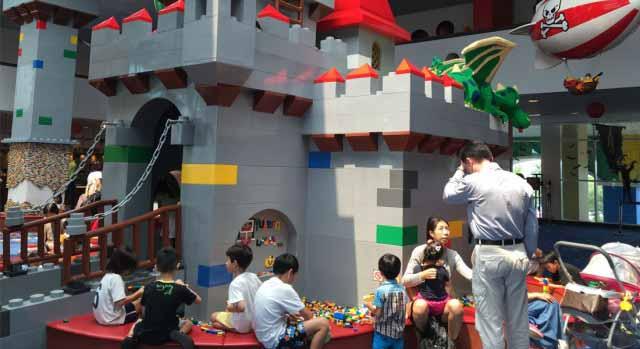Lobby at Hotel Legoland Malaysia