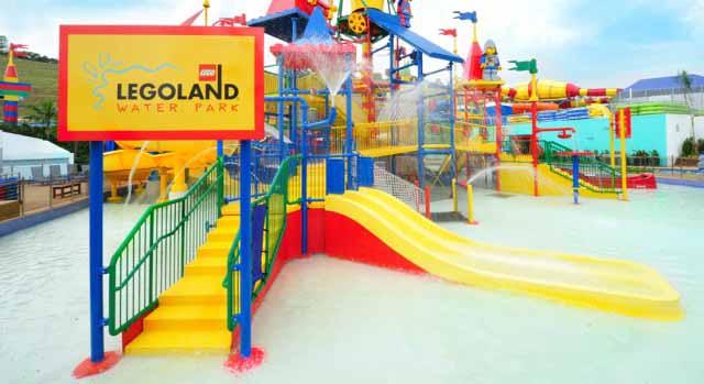 Waterpark at Legoland Malaysia