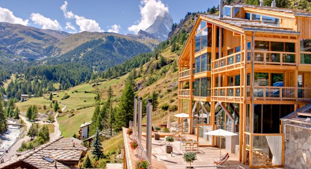 Family-Friendly Hotel Coeurs Des Alpes in Zermatt, Switzerland