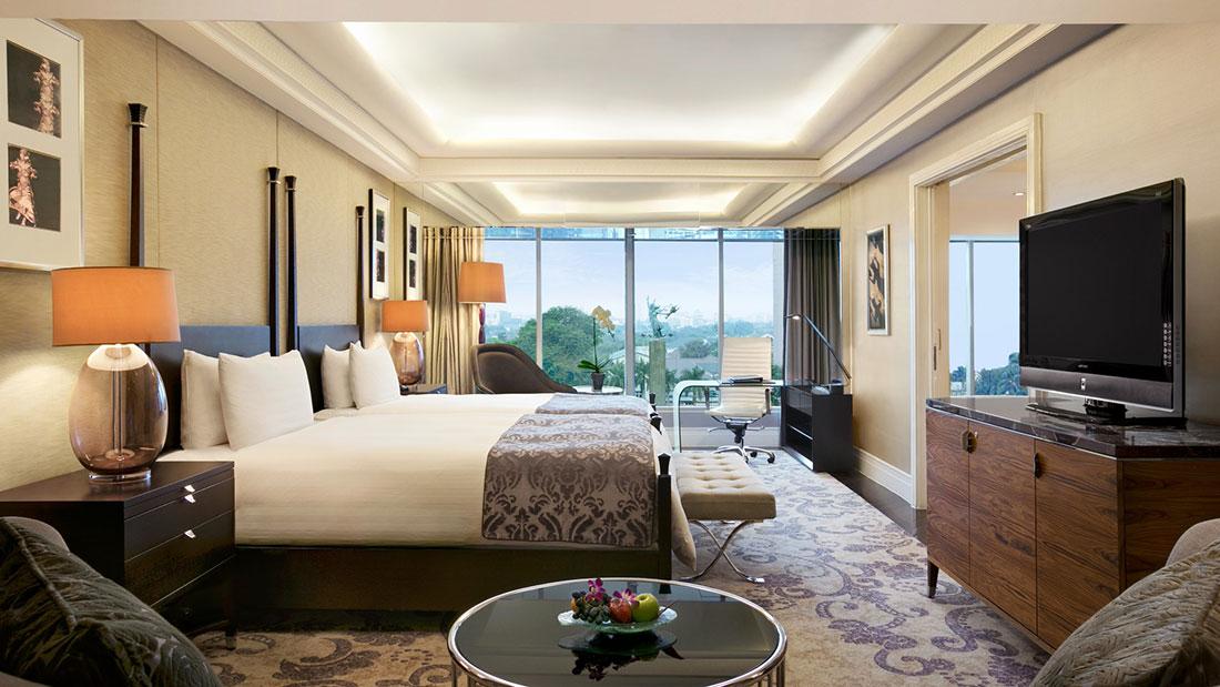 Room at hotel Kempinski Jakarta