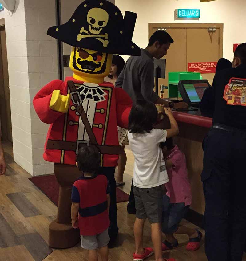 Kids at Hotel Legoland Malaysia