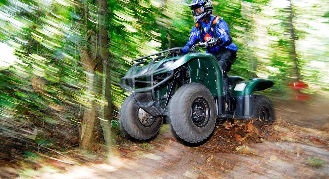 ATV bike riding at kid friendly hotel Angsana Bintan