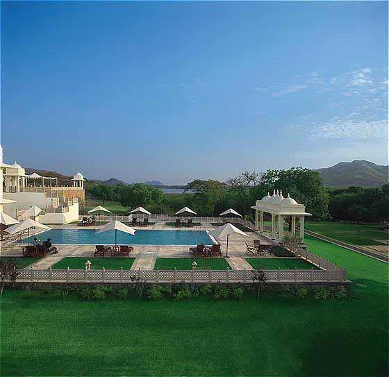 Trident, Udaipur. Pool