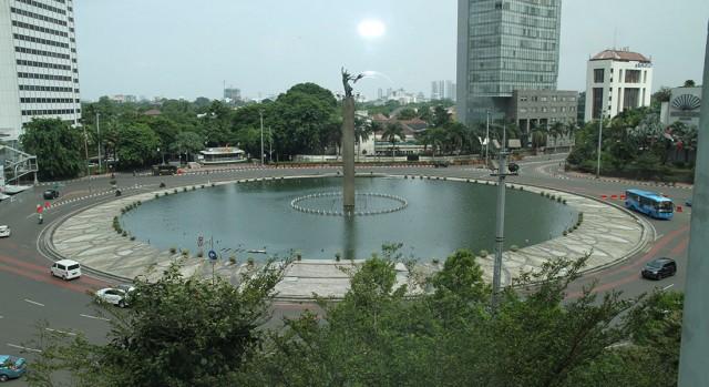 view from hotel Kempinski Jakarta