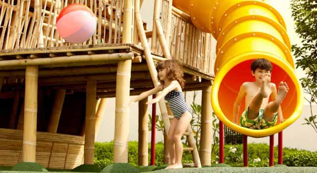 kids' club at Montigo Resorts Batam in Indonesia