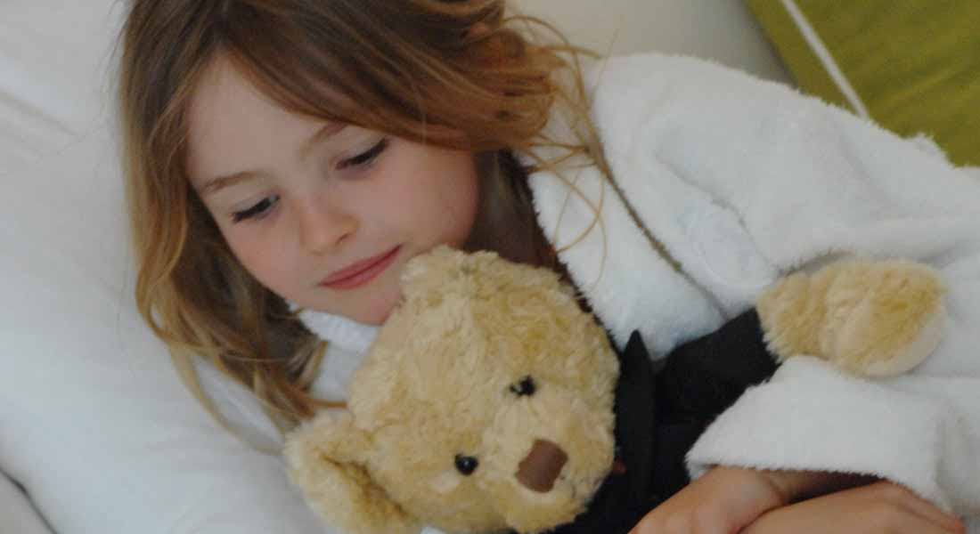 children at bedtime at kid friendly hotel browns london