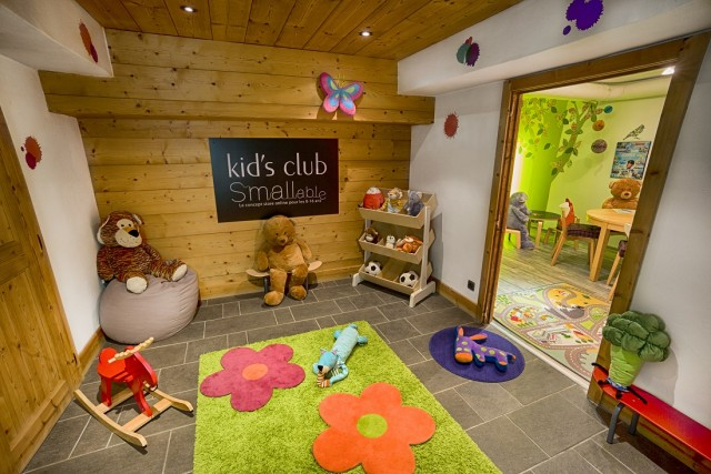 kids' club at family-friendly hotel Alpaga in Megeve