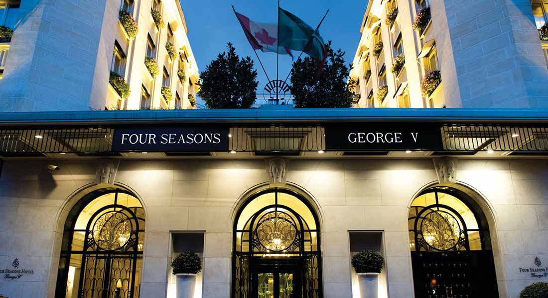 kid-friendly Hotel Four Seasons George V Paris