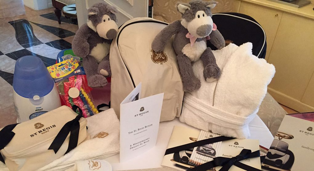 Amenities at luxury family-friendly hotel St. Regis Rome