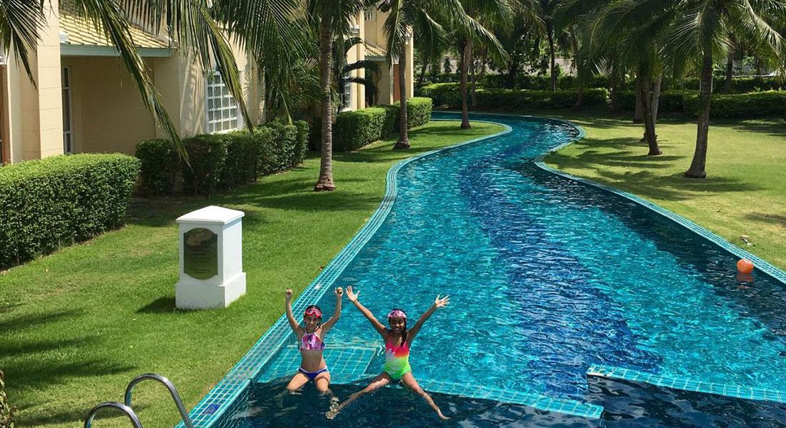Luxury family friendly hotel in krabi sofitel krabi - Child friendly hotels swimming pool ...