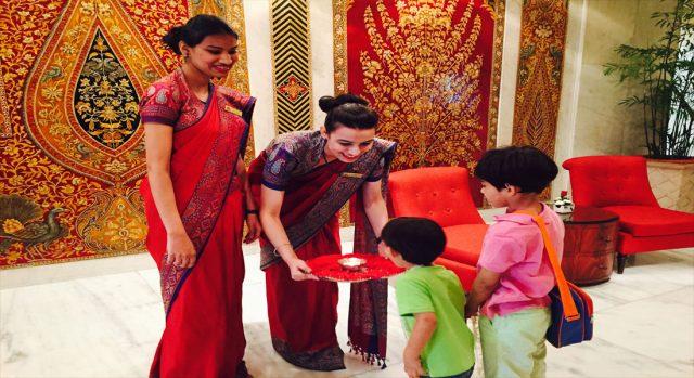 luxury family-friendly hotel Taj Mahal in Delhi